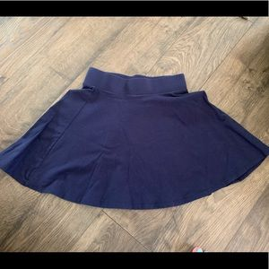 Forever 21 navy blue skater skirt